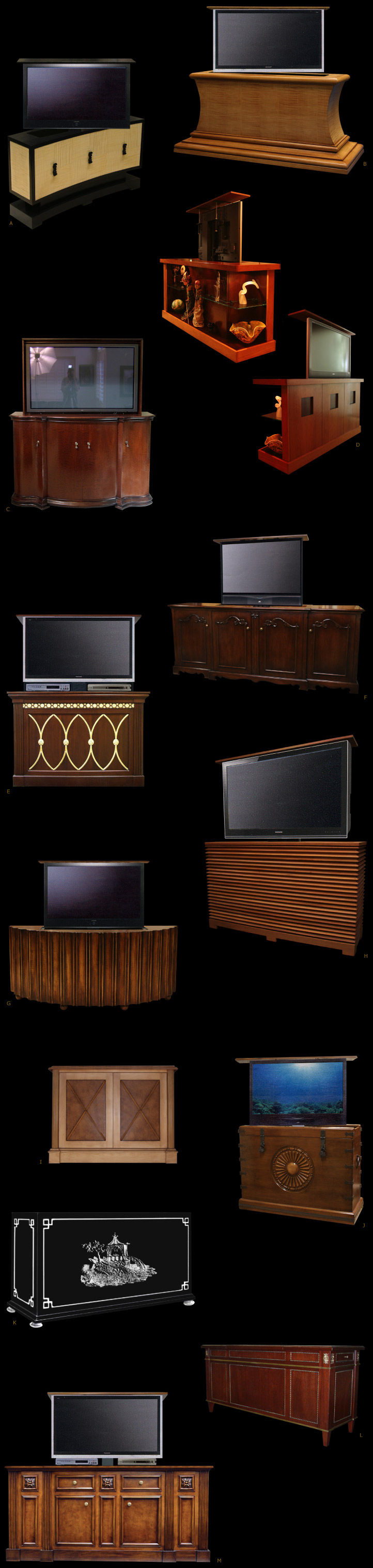 Custom TV Lift Furniture